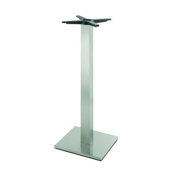 Inox square 605 bartable base