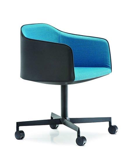 Laja 202 rolling armchair A