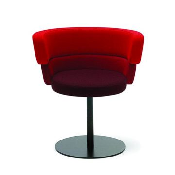 Dam 202 central base armchair