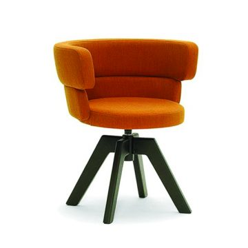 Dam 202 swivel armchair
