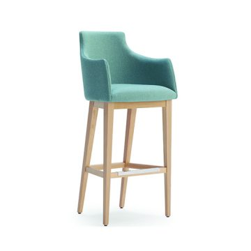 Albertone 302 barstool with arms