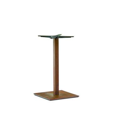 Inox square 605 coffee table base