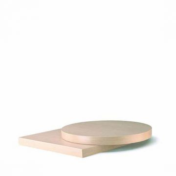 Laminate top, ABS edge