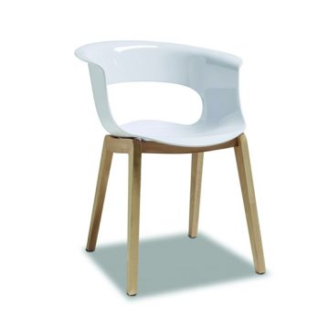 Natural Miss B 203 armchair