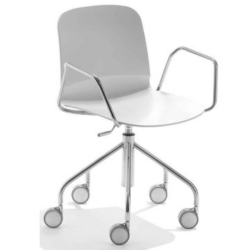 Liú 208 swivel armchair
