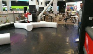 Bedesign, Food court, Braila Mall Romania